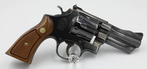 """Smith & Wesson - Smith & Wesson Model 27-2 3 1/2"""" Blue in ANIB"""
