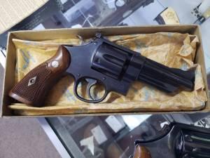 "SOLD Smith & Wesson Pre Model 28 4"" Blue 5 Screw NIB"