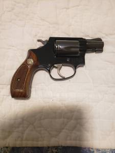 """Smith & Wesson  Model 37 Round Butt 2"""" Blue Mint"""
